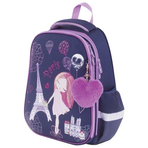 цена на BRAUBERG Ранец Premium Paris (228787), фиолетовый