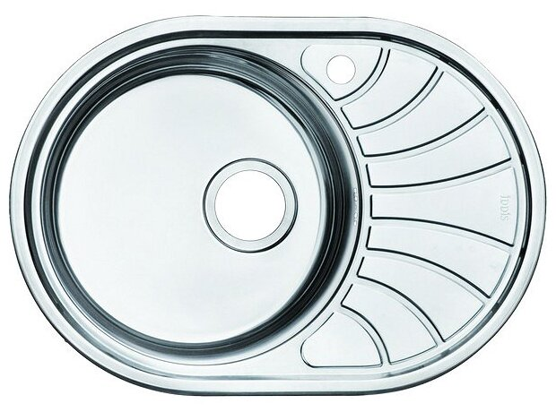 Врезная кухонная мойка IDDIS Suno SUN65PLi77 65х46см нержавеющая сталь