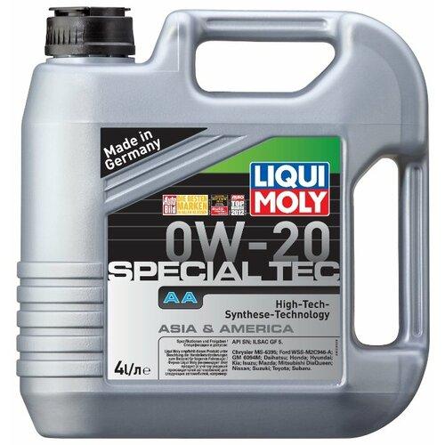 Моторное масло LIQUI MOLY Special Tec AA 0W-20 4 л