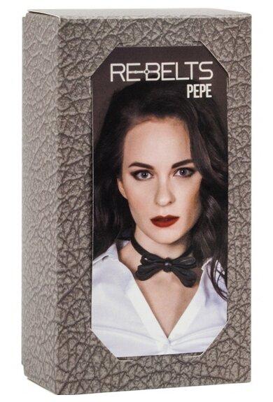 Rebelts Чокер-бабочка Pepe Black