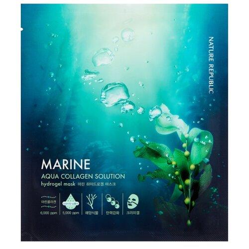 NATURE REPUBLIC Маска гидрогелевая Aqua Collagen Solution Hydro Gel Mask, 25 г apieu aqua nature тоник