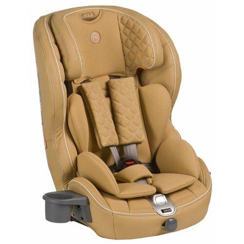 Автокресло группа 1/2/3 (9-36 кг) Happy Baby Mustang Isofix, beige