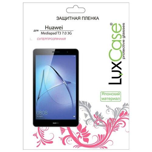Защитная пленка LuxCase для Huawei Mediapad T3 7.0 3G / суперпрозрачная прозрачный luxcase защитная пленка для microsoft lumia 650 суперпрозрачная