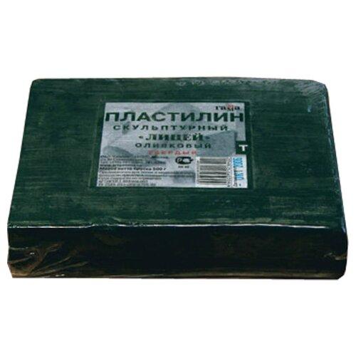Купить Пластилин скульптурный, оливковый, твердый, 0, 5 кг, ГАММА, Пластилин и масса для лепки