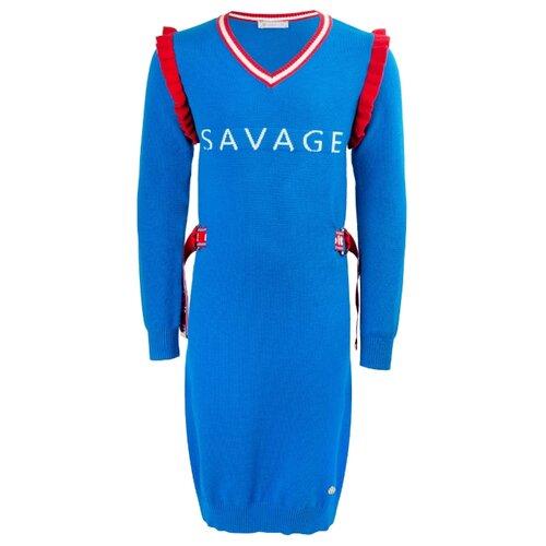 Платье Stefania Pinyagina размер 140, голубой