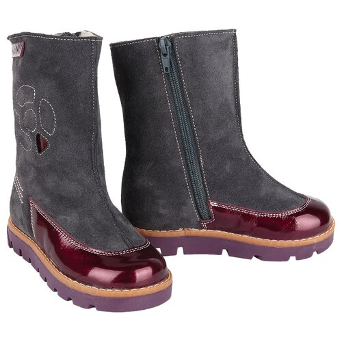 Сапоги Tapiboo размер 26, серый ботинки tapiboo размер 30 черный
