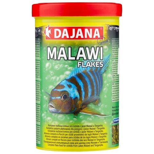 Сухой корм Dajana Pet Malawi Flakes для рыб 1000 мл 200 г