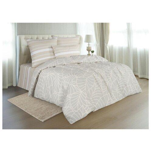 Постельное белье 2-спальное Guten Morgen 902 70х70 см, поплин бежевый одеяло guten morgen поплин 140х205 см