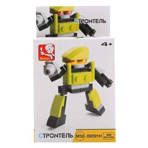 Купить Конструктор SLUBAN Builder M38-B0591H Робот, Конструкторы