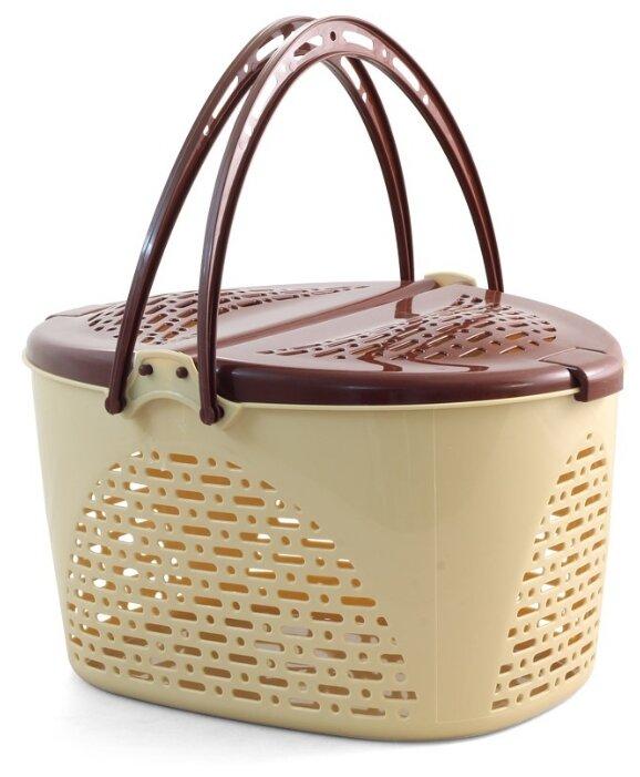Переноска-корзина для кошек и собак Triol 1040-2 S 40х29х23 см