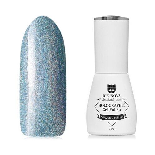 Купить Гель-лак для ногтей ICE NOVA Holographic Gel Polish Призма, 10 мл, оттенок №04