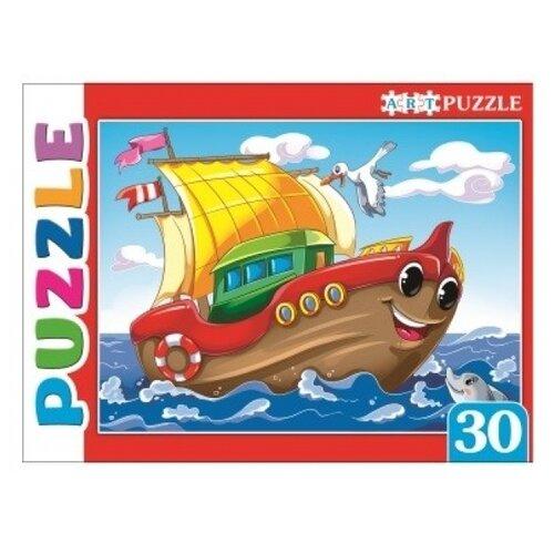 Пазл Рыжий кот Artpuzzle Яркий кораблик (ПА-4499), 30 дет.