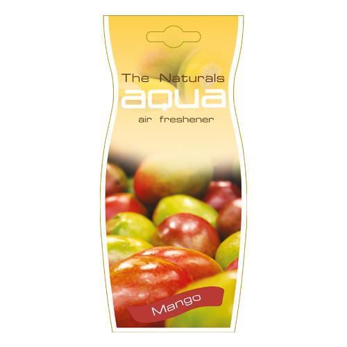 Aqua Ароматизатор для автомобиля Naturals Fruit Drop Mango Fresh 12 г