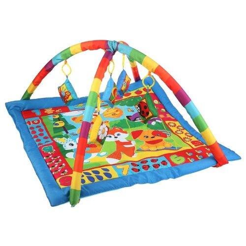 Купить Развивающий коврик Умка Лесная полянка (B1387963-RP), Развивающие коврики