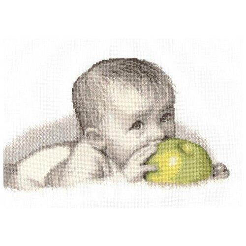 Купить Овен Набор для вышивания Малыш с яблоком 30 х 20 см (511), Наборы для вышивания