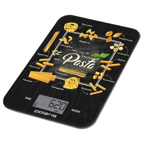 Кухонные весы Polaris PKS 1054DG pasta кухонные весы polaris pks 1057dg fruits