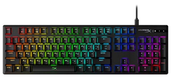Игровая клавиатура HyperX Alloy Origins Black USB — цены на Яндекс.Маркете