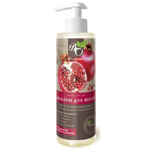 Bliss Organic бальзам Восстанавливающий для поврежденных и окрашенных волос, 200 мл
