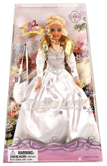 Кукла Defa Lucy в белом платье, 29 см, JB700253