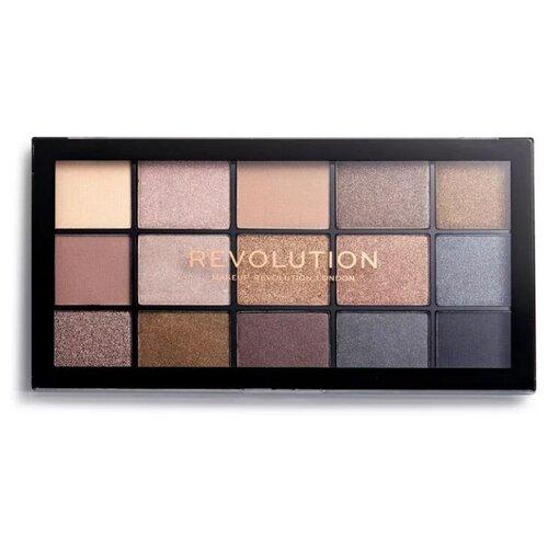 REVOLUTION Палетка теней Reloaded Palette Smoky Newtrals  - Купить