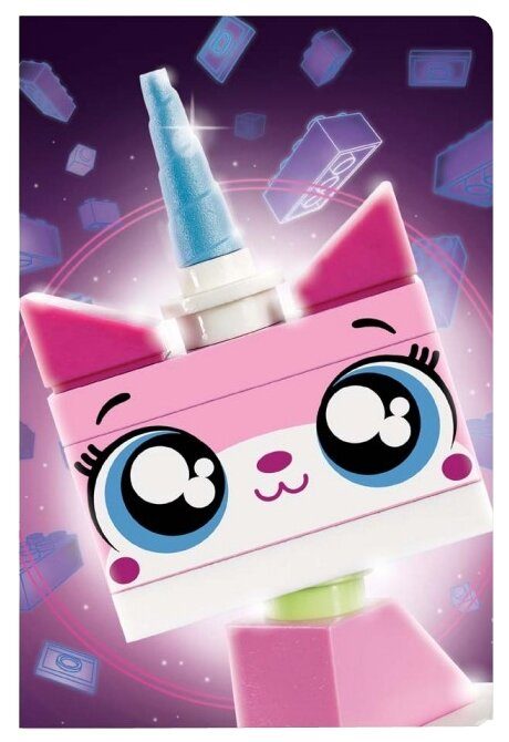 Блокнот LEGO Movie 2 Unikitty 52341 21x14 см (96 листов)