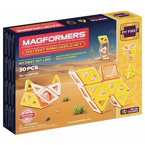 Конструктор Magformers My First 702010 Песчаный мир