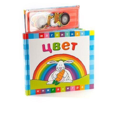 Купить Новый формат Книжка-игрушка Магнитные книжки. Цвет, Книжки-игрушки