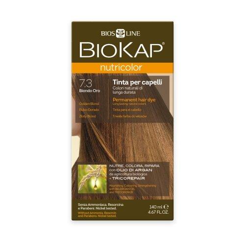 BioKap Nutricolor крем-краска для волос, 7.3 золотистый блондин