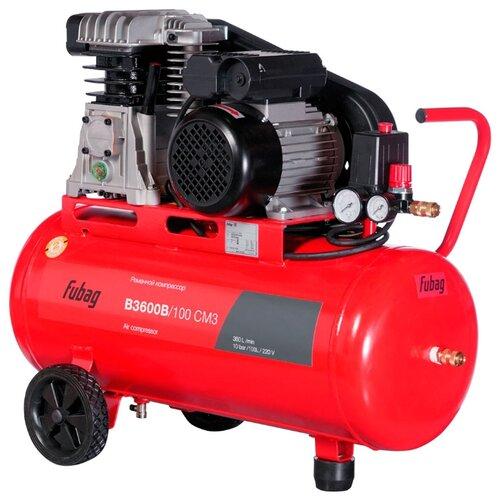 Компрессор масляный Fubag B3600B/100 CM3, 100 л, 2.2 кВт компрессор fubag b 2800 b 100 cm3