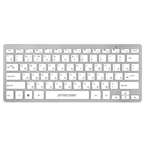 Клавиатура Jet.A Slim Line K8 BT Silver Bluetooth