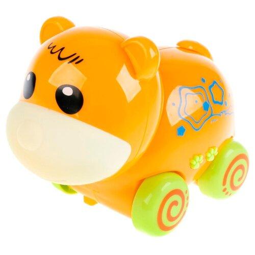 Каталка-игрушка Умка Медвежонок (ZY238307) оранжевый цена 2017