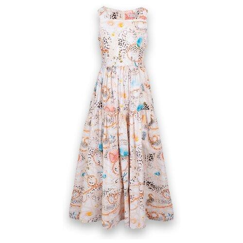 Платье Stefania Pinyagina размер 110, молочный