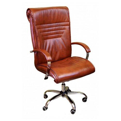 Компьютерное кресло Креслов Премьер КВ-18-131112 для руководителя, обивка: искусственная кожа, цвет: Виски