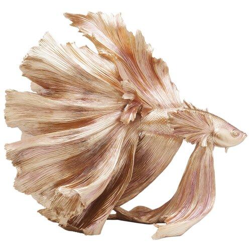 KARE Design Статуэтка Fish, коллекция Рыба 63*57*34, Полирезин, Золотой статуэтка faberge oc33719 серый золотой черный