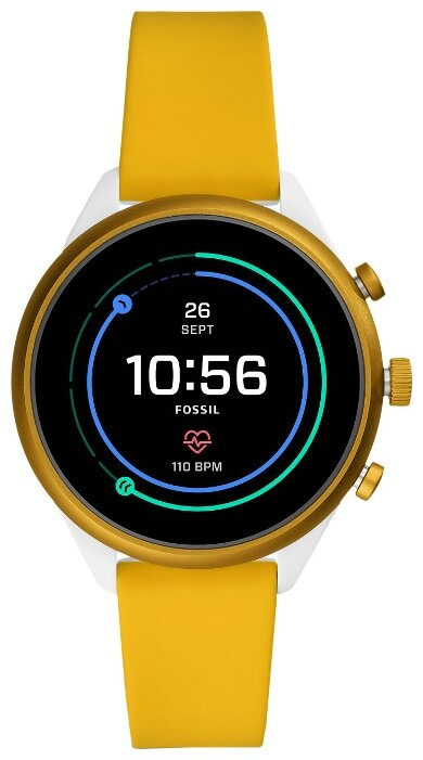 Умные часы FOSSIL Gen 4 Sport Smartwatch 41мм, желтый фото 1