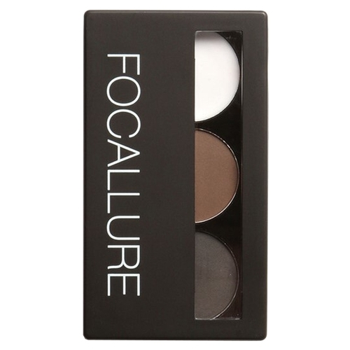 FOCALLURE Пудра для бровей Eyebrow Powder Palette