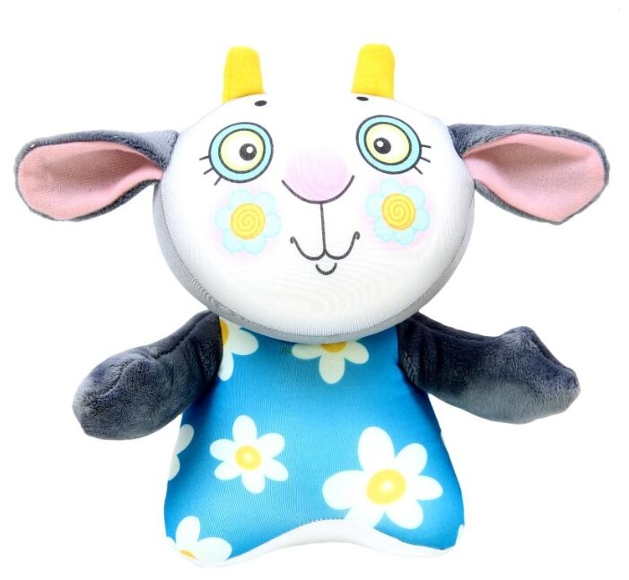 Купить Антистрессовая игрушка Штучки, к которым тянутся ручки Курносики. Коза по низкой цене с доставкой из Яндекс.Маркета