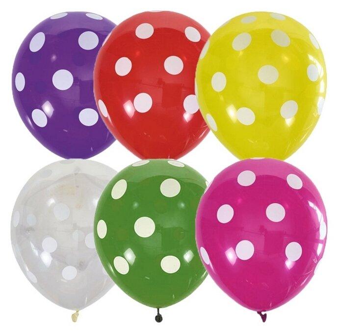 Набор воздушных шаров Поиск Горошек (25 шт.)
