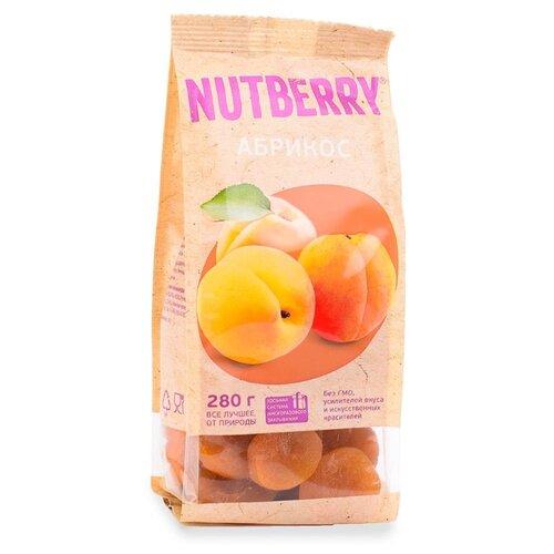 Сухофрукты абрикосы NUTBERRY без косточек, 280 г