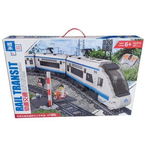 Купить Электромеханический конструктор Zhe Gao Rail Transit QL0310, Конструкторы