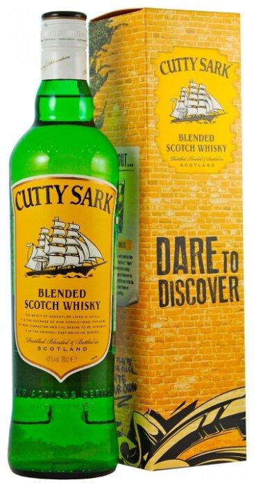Виски Cutty Sark, 0.7 л, подарочная упаковка