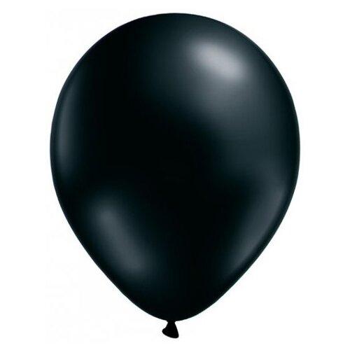 Набор воздушных шаров MILAND Металлик 21 см (100 шт.) черный