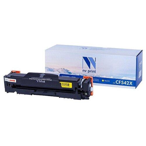 Фото - Картридж NV Print CF542X Yellow для HP, совместимый картридж hp cf542x clj m254 m280 m281 2 5k yellow superfine