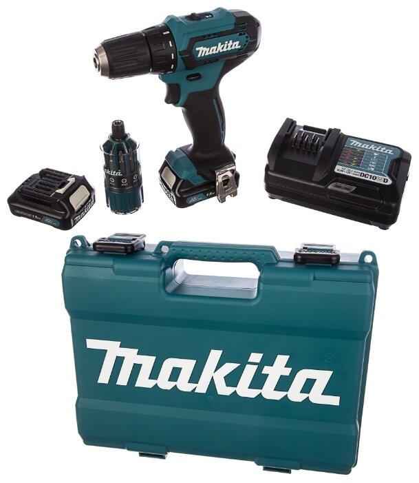 Аккумуляторная дрель-шуруповерт Makita DF333DWYE4 Li-Ion 1.5 А·ч 10.8 В х2 кейс 30 Н·м — купить по выгодной цене на Яндекс.Маркете