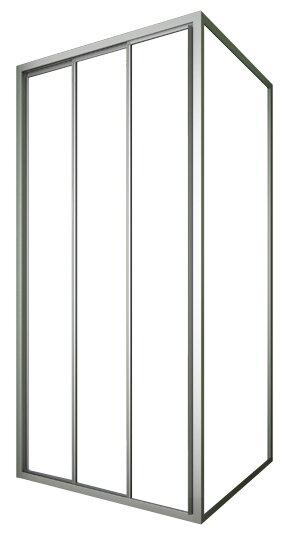 Душевой уголок GuteWetter Practic Square GK-403 R 115см*115см