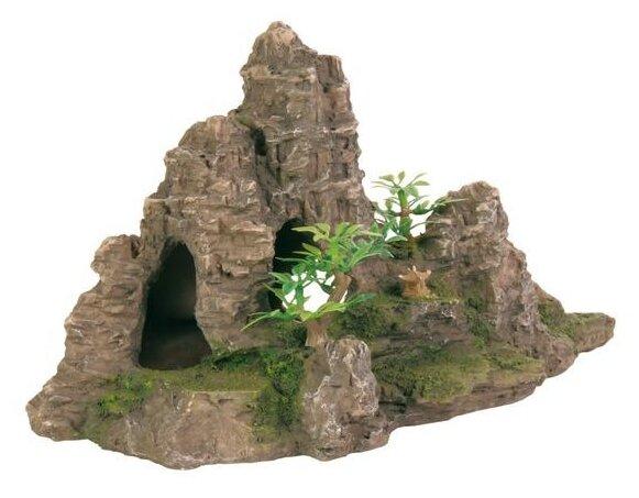 Грот TRIXIE Скалы с пещерой с растениями