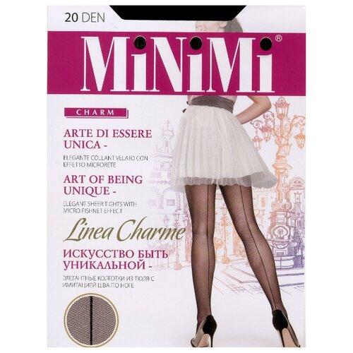 Колготки MiNiMi Linea Charme nero 3-M (MiNiMi)Колготки и чулки<br>