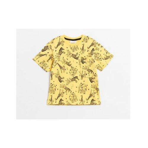 Футболка COCCODRILLO размер 110, желтый футболка coccodrillo coccodrillo mp002xg00hvs
