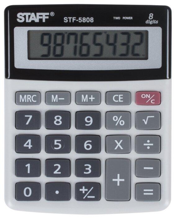 Калькулятор бухгалтерский STAFF STF-5808