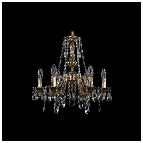 Фото - Люстра Bohemia Ivele Crystal 1771/6/150/A/GB, 240 Вт люстра bohemia ivele 1771 6 150 a g